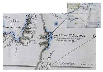 Early Map of Australia