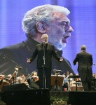 Monica Martinez-gv / GCBA. The Spanish tenor, Plácido Domingo, sang arias and popular pieces in a spectacular concert that featured a crowd at the Republic Square, Buenos Aires, 2011