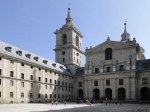 Courtyard of the Kings and the Basilica, El Escorial