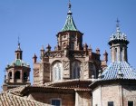 Dome of the Cathedral of Teruel, Mudejar architecture of Aragon