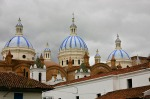 Domes of the New Cathedral in Cuenca