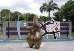 Hans Arp. 'Cloud Shepherd' 1953, University City of Caracas