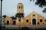 Church of Santa Bárbara, with the bell tower on the balcony, Santa Cruz de Mompox