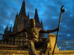 Monument of the pilgrims, Burgos, Route of Santiago de Compostela