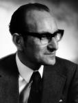 Portrait of César Milstein. Godfrey Argent Studio