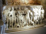 Sarcophagus preserved in the circus and forum museum, Tarraco