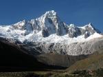 Taulliraju mountain in Huascarán National Park