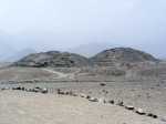 The Caral pyramids in the arid Supe Valley, Sacred City of Caral-Supe